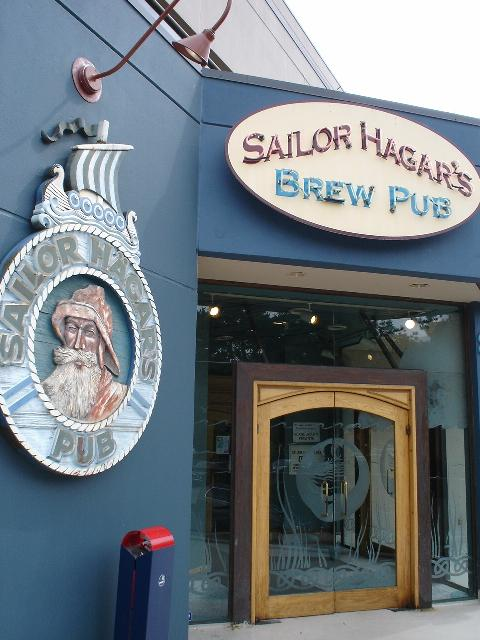 Sailor Hagars Brew Pub Website Design